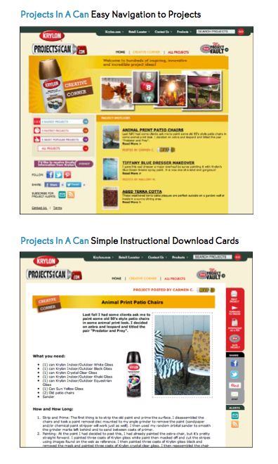 krylon project cards